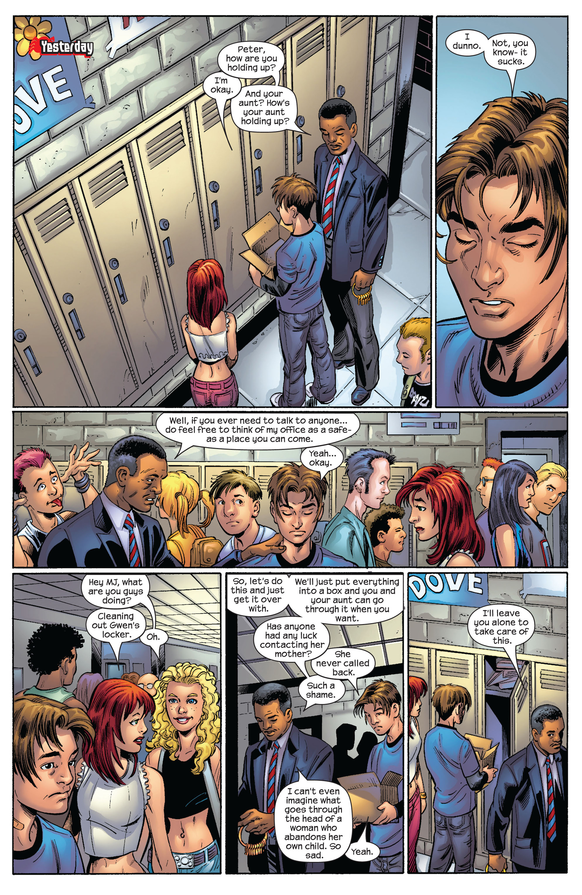 Read online Ultimate Spider-Man (2000) comic -  Issue #65 - 5