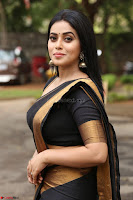 Poorna in Cute Backless Choli Saree Stunning Beauty at Avantika Movie platinum Disc Function ~  Exclusive 066.JPG