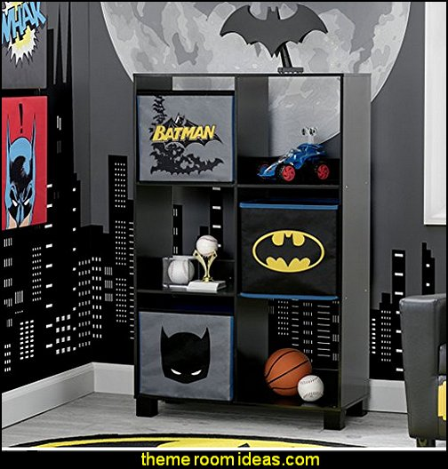 Children Deluxe 3 Shelf Book Case, DC Comics Batman