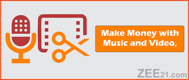 Make Money Online  with music and videos