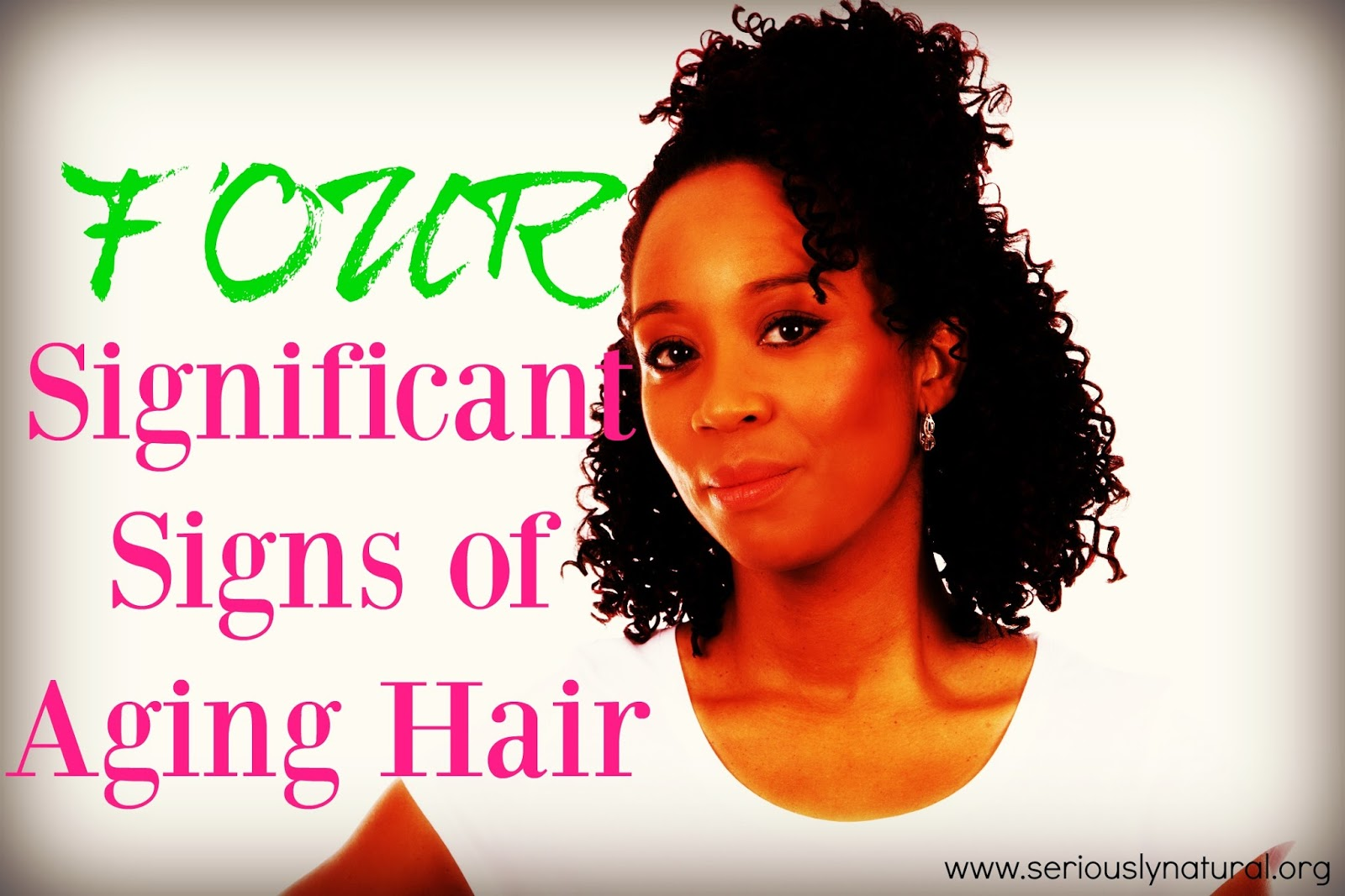 4 Significant Signs of Aging Hair