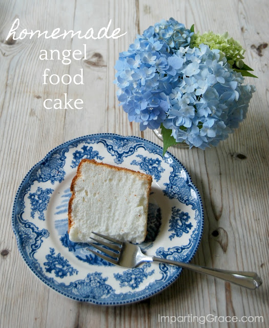 Simple recipe for the best angel food cake