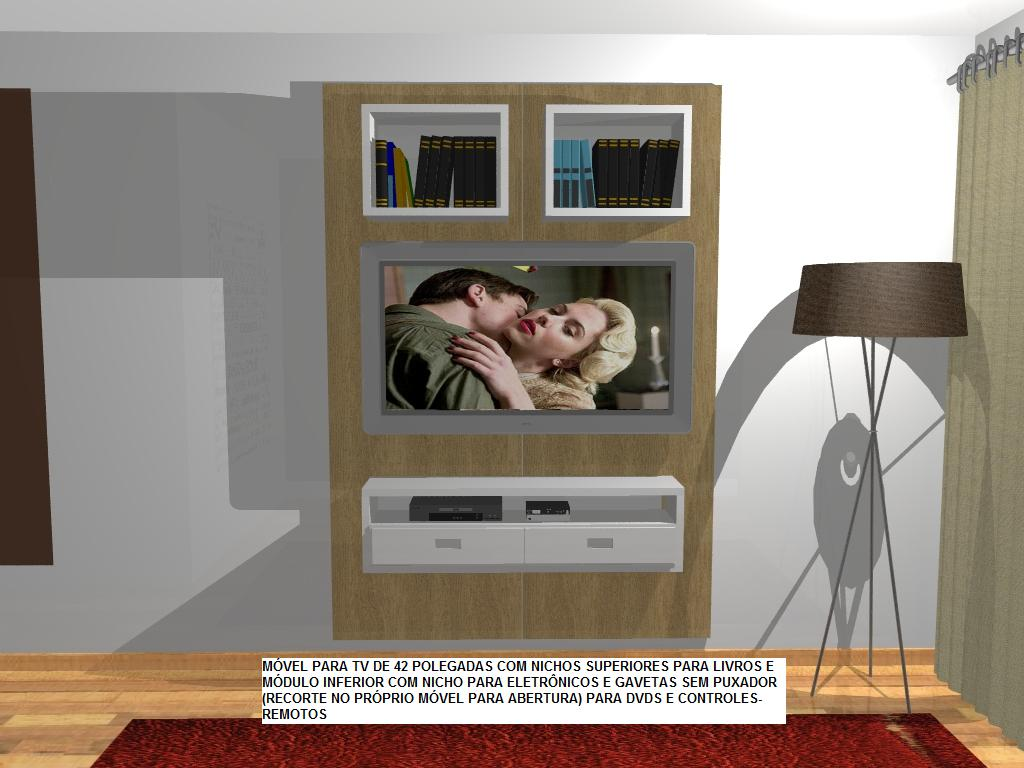 estante para botar a TV