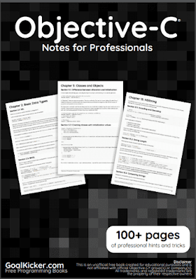 Objective C pdf book Notes | Free Download