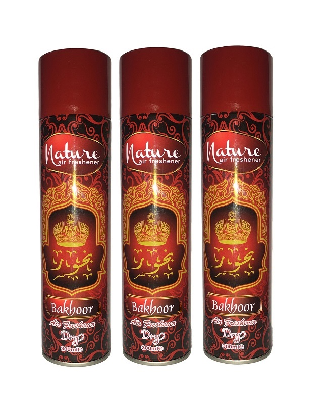 Pack Of 3 - Nature Bakhoor Air Freshener 300 ml