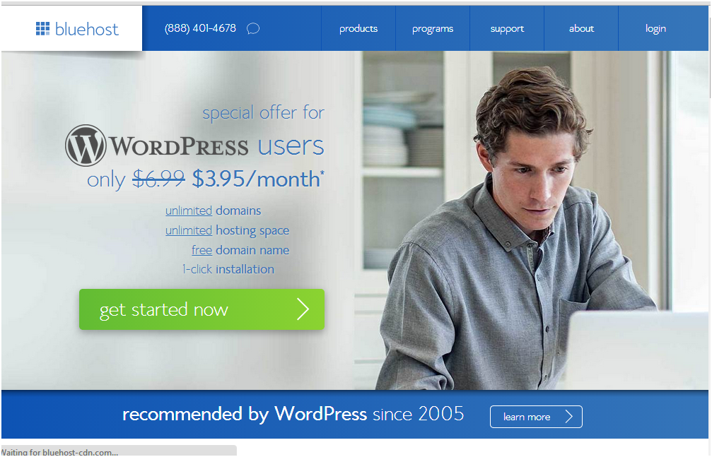 Best wordpress hosting sites in 2014 - bluehost