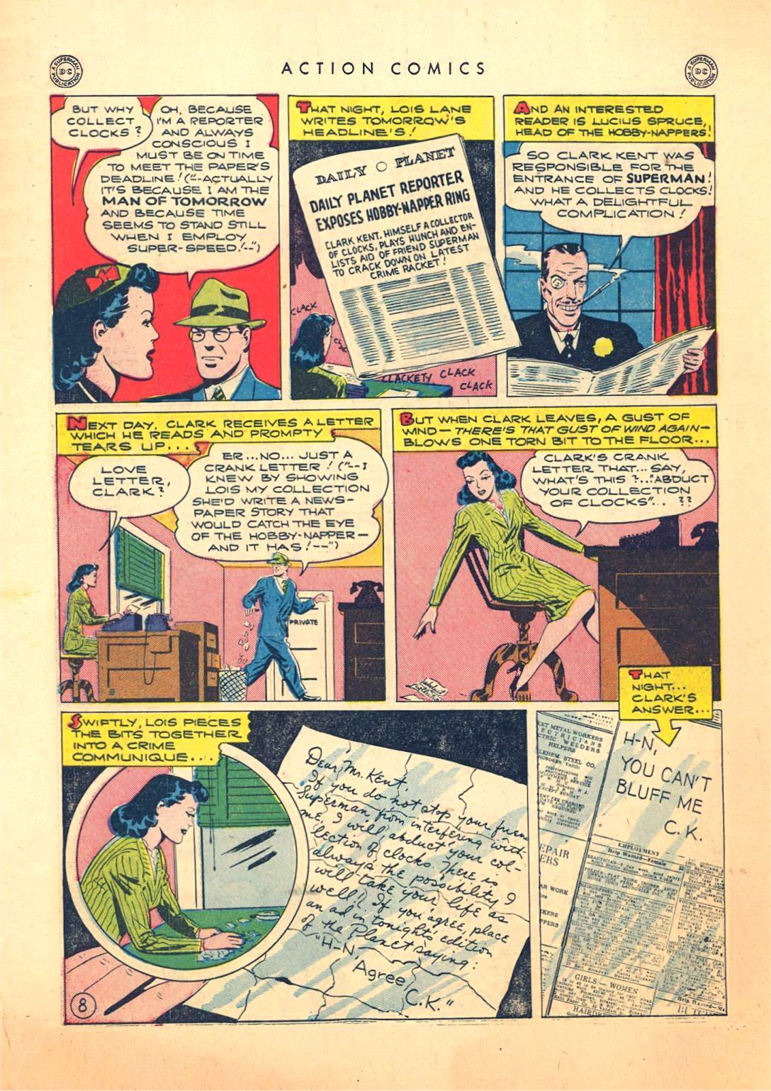 Action Comics (1938) 73 Page 8