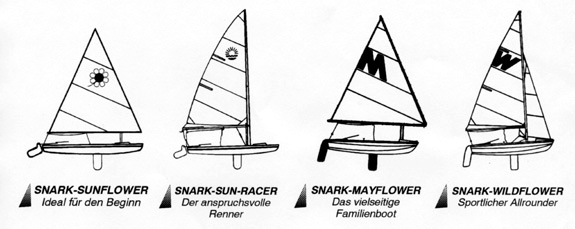 Snark Wildflower Sailboat