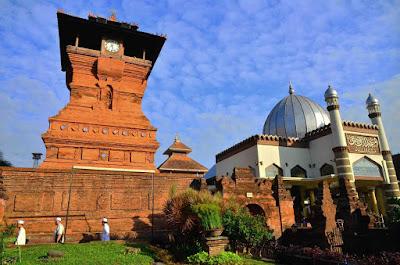 Menara Kudus, Bangunan Akulturasi Budaya di Kudus Jawa Tengah