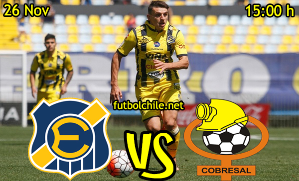 Ver stream hd youtube facebook movil android ios iphone table ipad windows mac linux resultado en vivo, online: Everton vs Cobresal