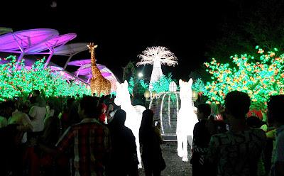eksplorasi sambutan tahun baru di i-city shah alam