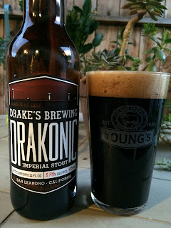 Drakes Brewing Drakonic Imperial Stout 1