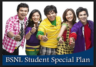 BSNL Student Plan:1GB 3G Free internet +More Offers @Rs 118