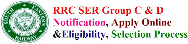 RRB - RRC SER Group C & D Recruitment 2017 Eligibility & Apply Online for rrcser.in