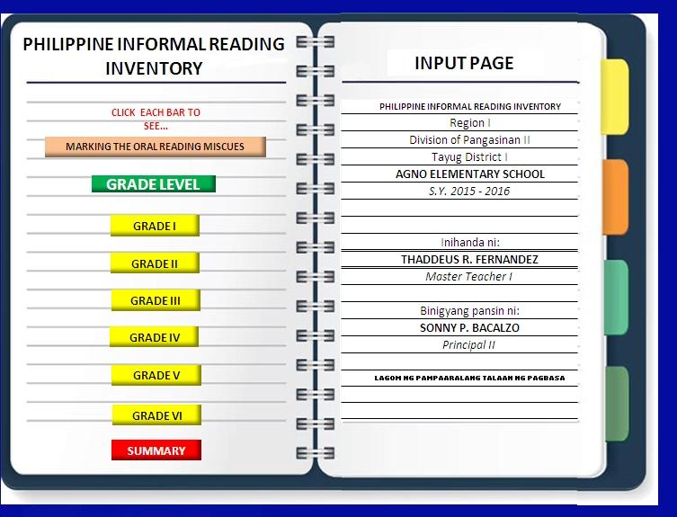 AUTOMATED PHILIRI TEMPLATE FOR FILIPINO | PASSIONATE MENTORS