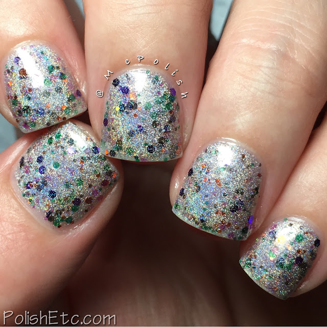 Nine Zero Lacquer - Halloween 2016 Collection - McPolish - Spooky Lights