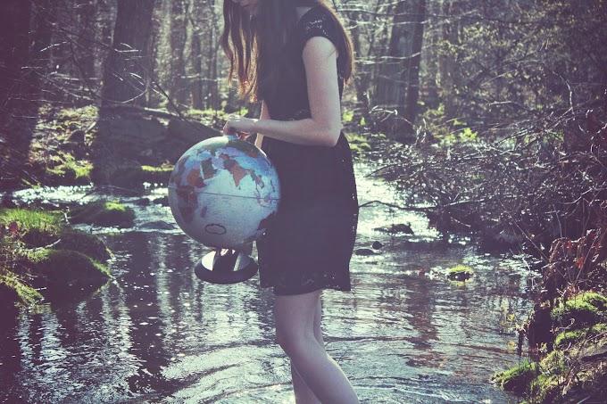 Carregando o peso do mundo