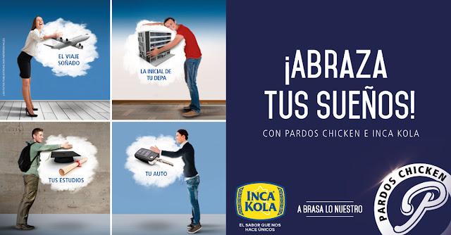 [Sorteo] Convierte en realidad tus más anhelados deseos - Abraza tus sueños con Pardos e Inka Kola