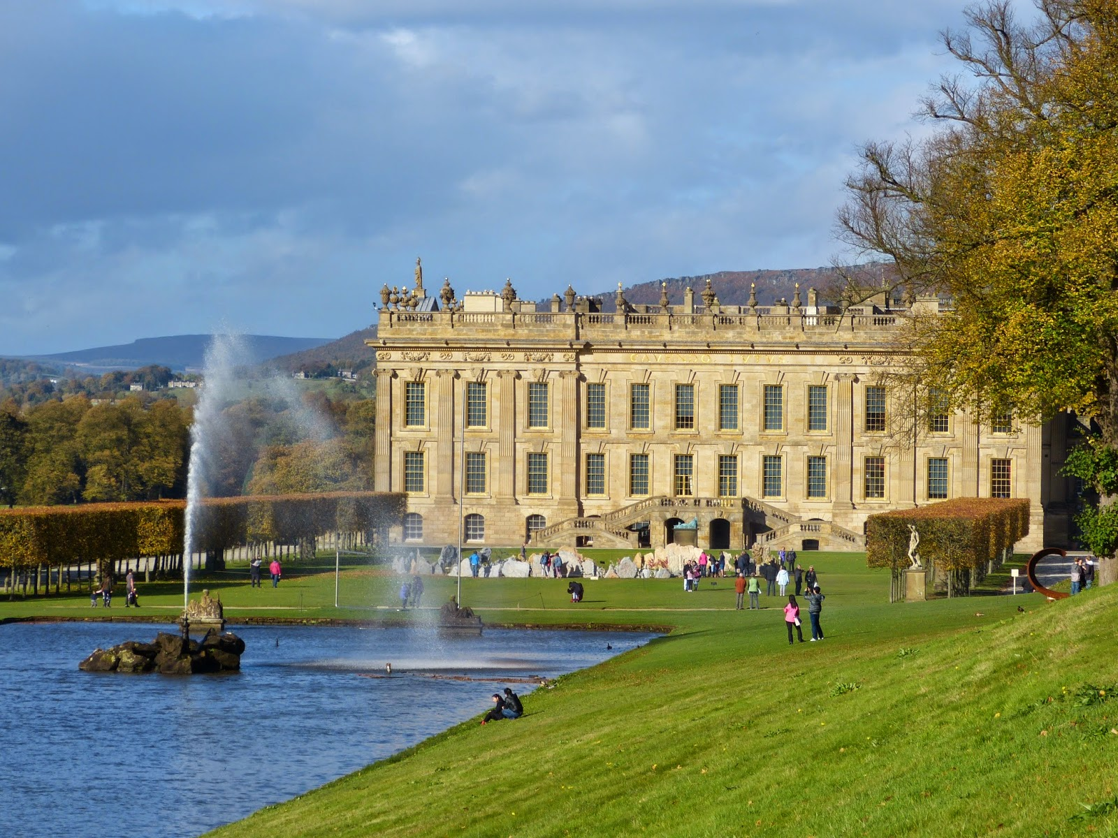 The Emperor Fountain, Chatsworth