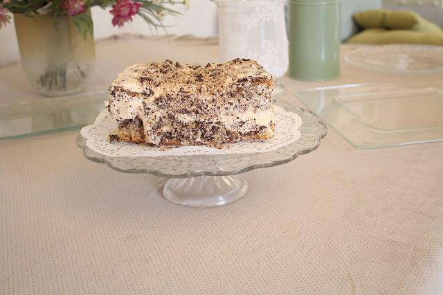 IMG 2764 - עוגת אגוזים וקרם מוקה משגעת לפסח