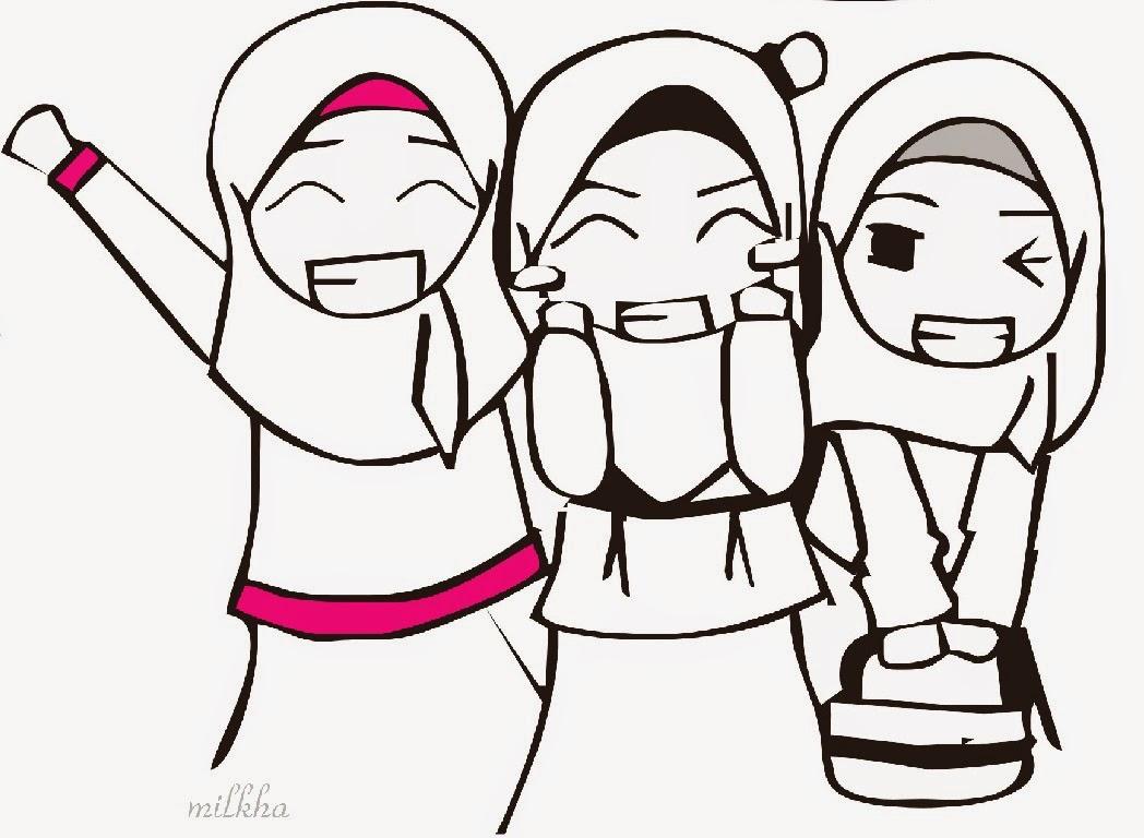 Kumpulan Gambar Animasi Persahabatan