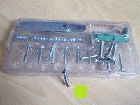 Schraubmaterial: Stabiler Kistenständer Kastenregal Falschenregal Kastenständer (3 Kasten)
