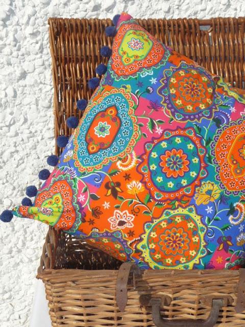 square-indian-gypsy-cushion-with-blue-pom-pom