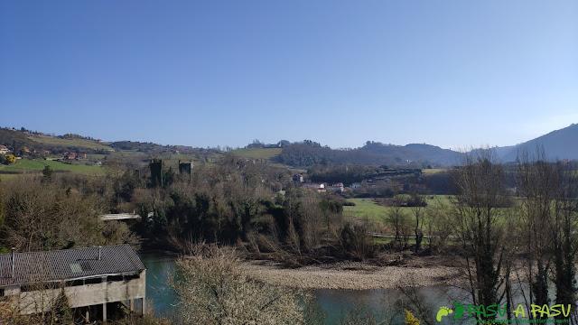 Río Nalón por Caces