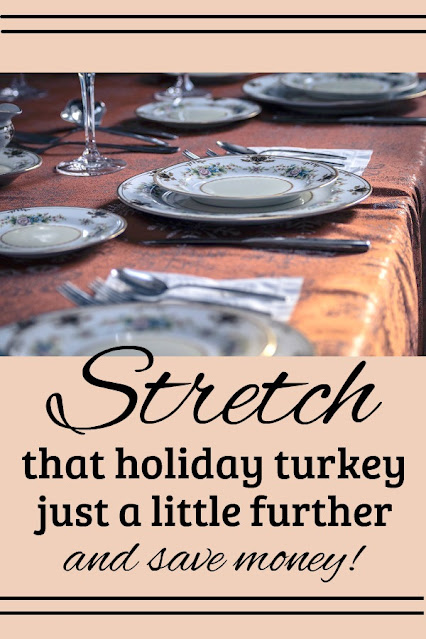 How to make turkey stock from your holiday turkey bones and stretch your holiday food budget.