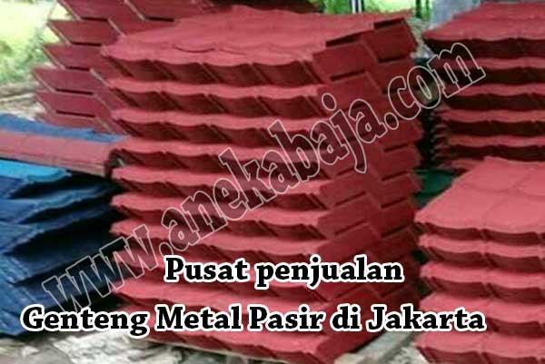 HARGA GENTENG METAL PASIR JAKARTA, JUAL GENTENG METAL PASIR JAKARTA, HARGA GENTENG METAL BER LAPIS PASIR JAKARTA 2019