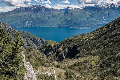 Tour mit genialer Aussicht Gardasee mit dem Mountainbike
