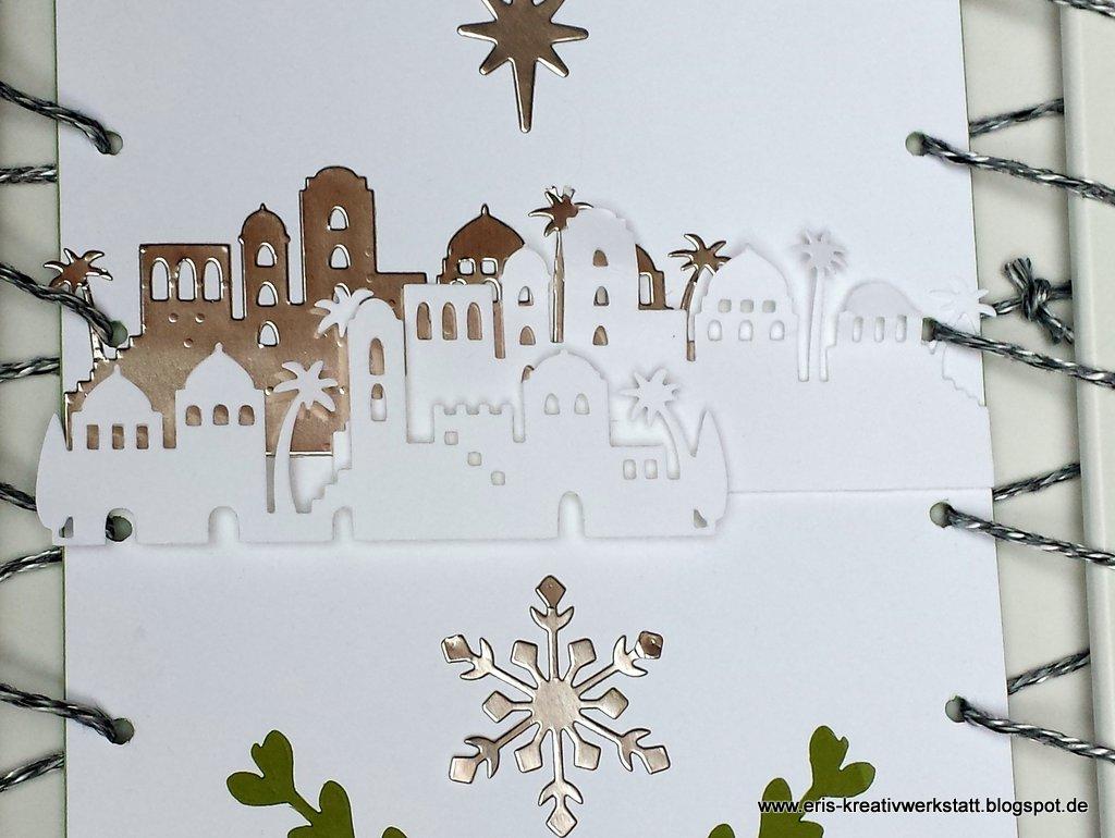 Eri\'s Kreativwerkstatt: Gefädelter Bilderrahmen als Weihnachtsdeko ...