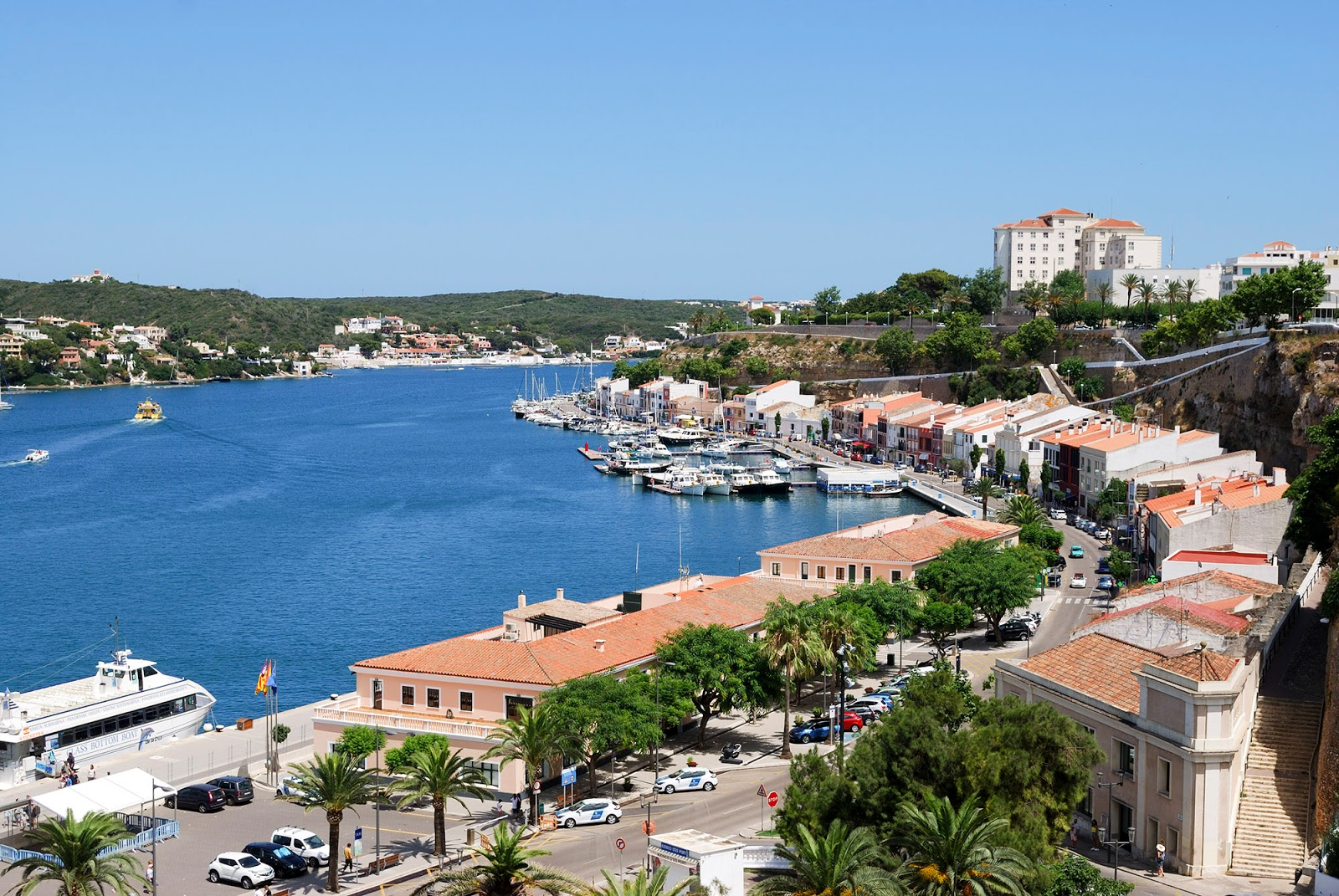 Mahon port Menorca Spain what to do itinerary