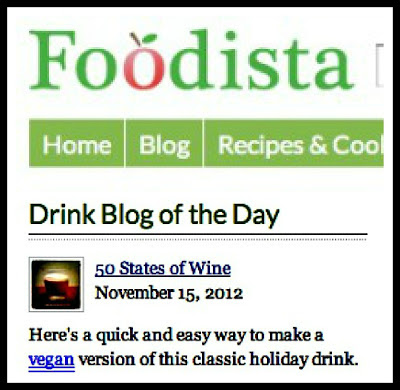 Foodista Drink Blog of the Day