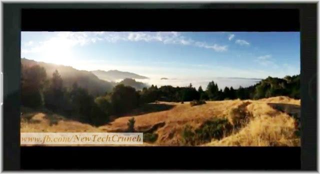 iPhone 5 panorama camera shot