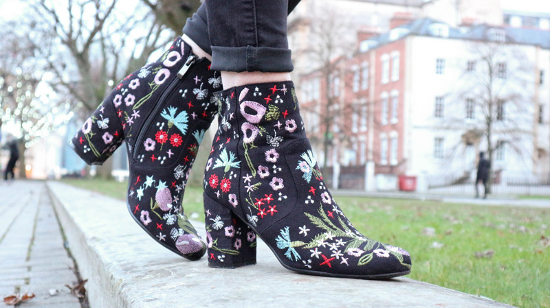 How to Style Embroidered Boots