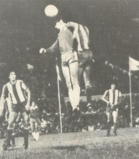 Paraguay y Chile en partido amistoso, 24 de julio de 1983