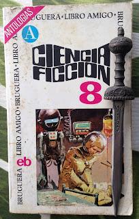 Portada del libro Ciencia ficción 8, de varios autores