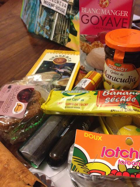 sweet kwisine, concours, fruits, martinique, cuisine antillaise