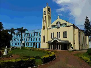 Santuário Nossa Senhora da Salete, em Marcelino Ramos, RS