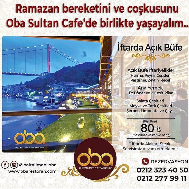oba cafe istanbul oba cafe restoran oba cafe iletişim oba baltalimanı iftar mekanları istanbul baltalımanı iftar menüsü