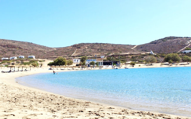 Manganari beach, Ios island, Cyclades Greece
