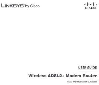 Linksys WAG120N Manual