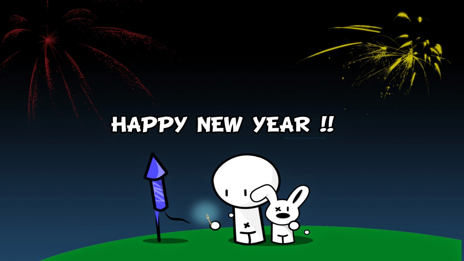 happy new year 2015 funny cartoon images wallpaper happy new year