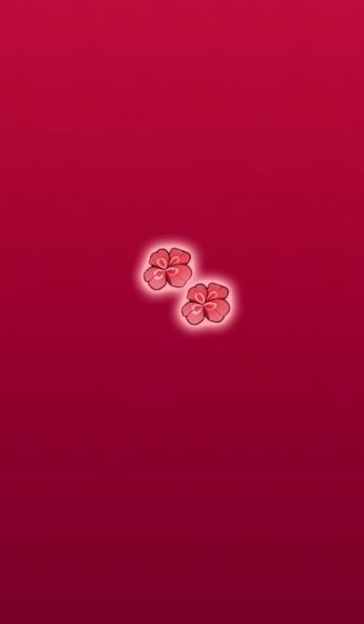 Super Lucky Clover Pink Red