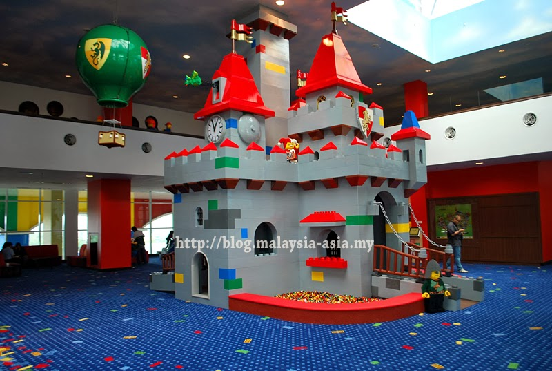 Lobby Area Legoland Hotel Malaysia