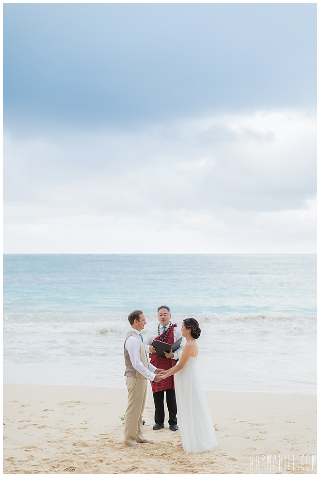 Oahu Beach Elopement