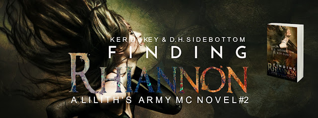 [Cover Reveal] FINDING RHIANNON by Ker Dukey & DH Sidebottom @kerdukeyauthor @DHSidebottom @justAbookB