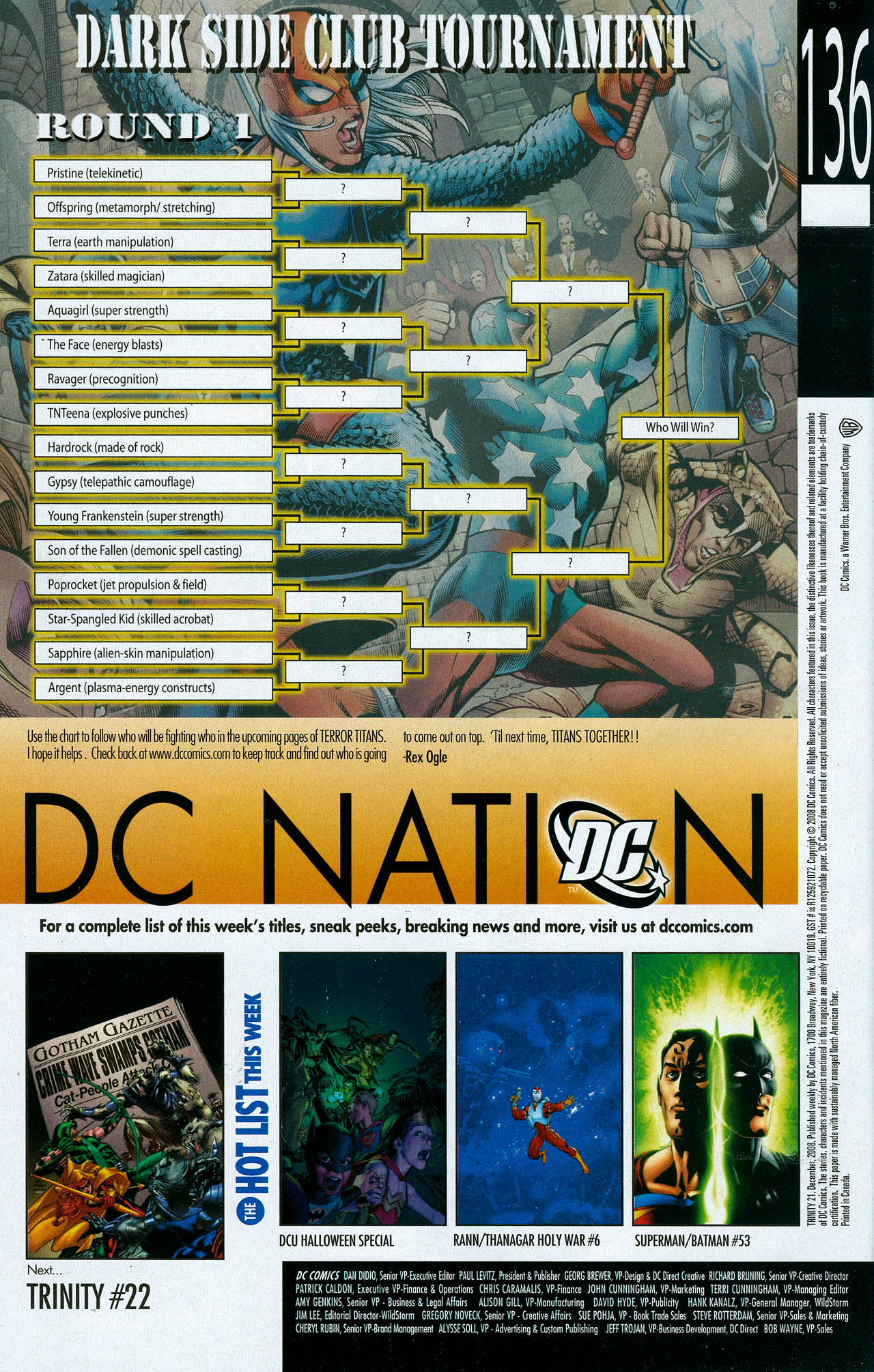 Read online Trinity (2008) comic -  Issue #21 - 34