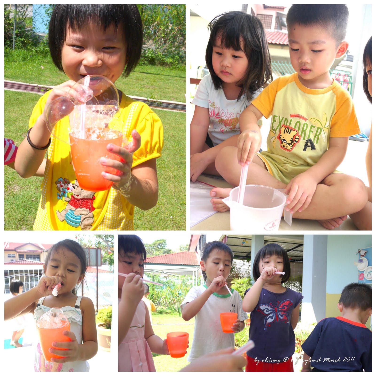 Kindergarten Science Activities With Bubbles